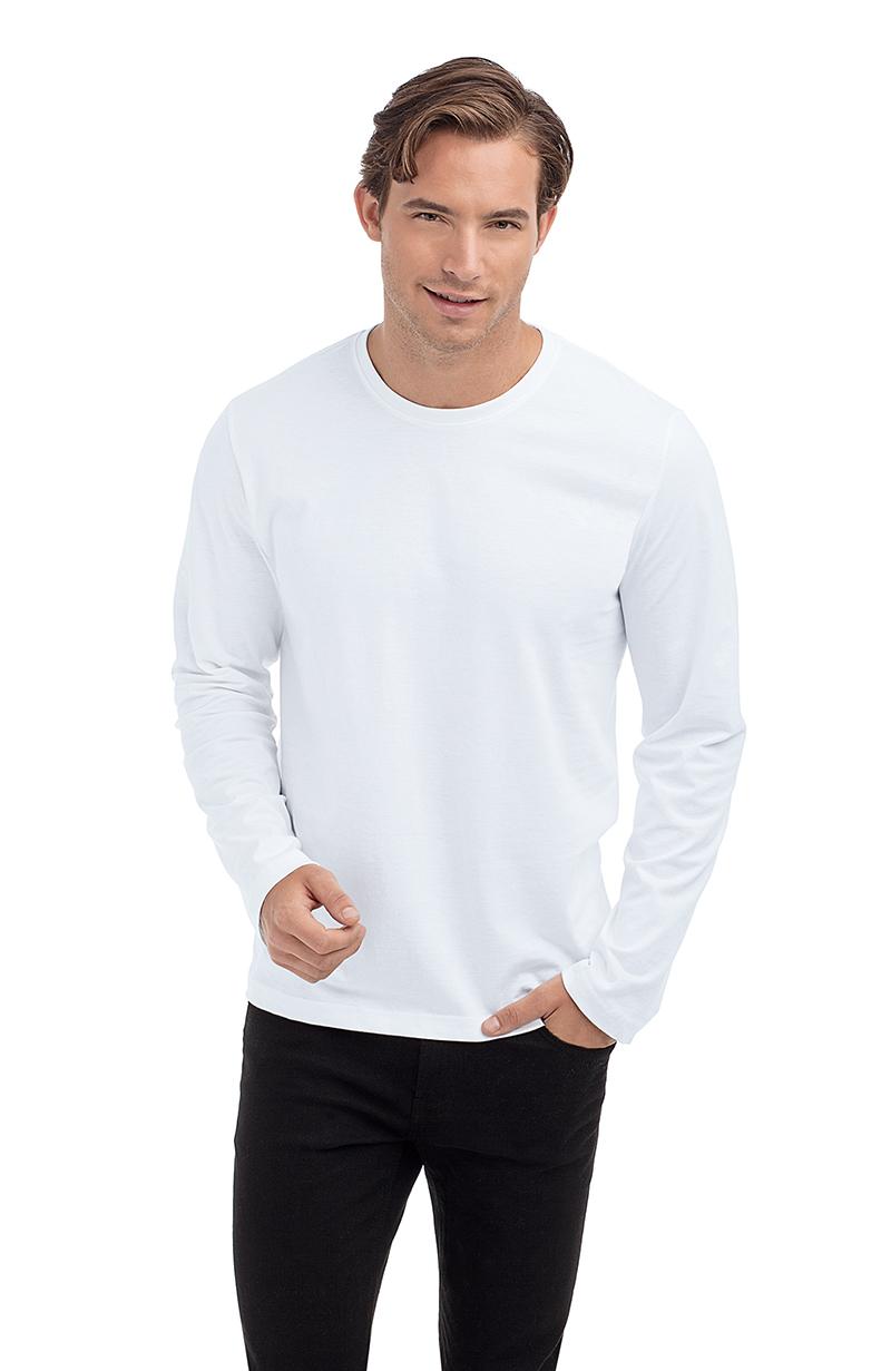 Akční cena - pánské tričko s dlouhým rukávem 77c23dc8e1