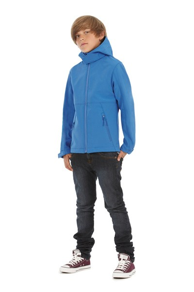 BC Hooded Softshell kids