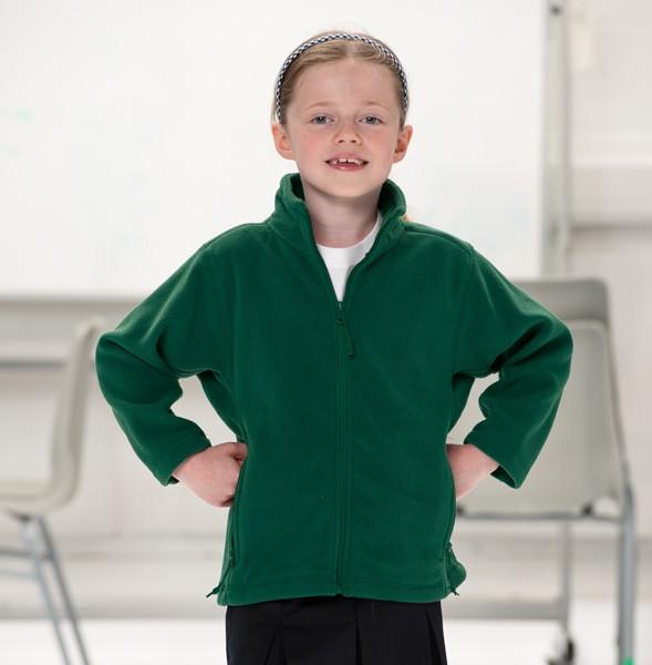 Dětská fleece mikina Russell Full Zip 870B