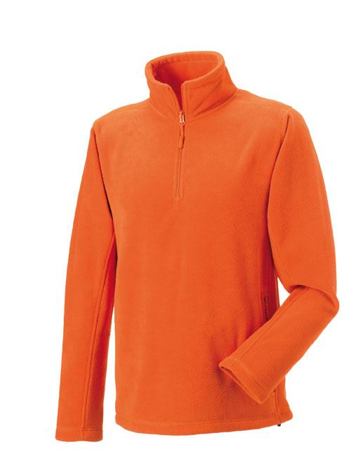 Pánská fleece mikina Russell kr. zip 874M