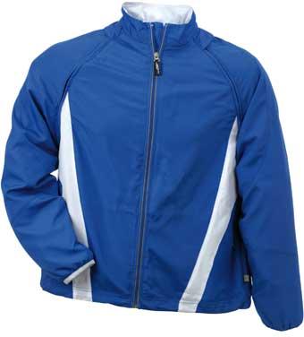 POSLEDNÍ KUS - Sportovní pánská bunda - JN 309 (S,royal/white)) (JN 309 Mens Running Jacket)