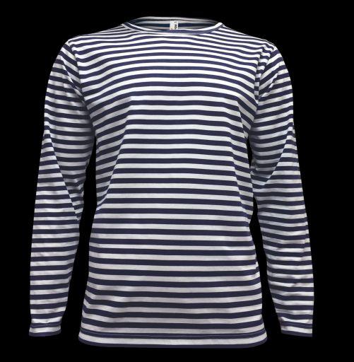 Pánské námořnické tričko s dlouhým rukávem William ALEX FOX 13ddb04f7c