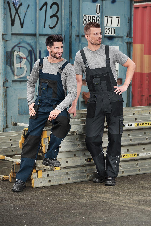 Pracovní kalhoty s laclem RANGER W04 - RIMECK
