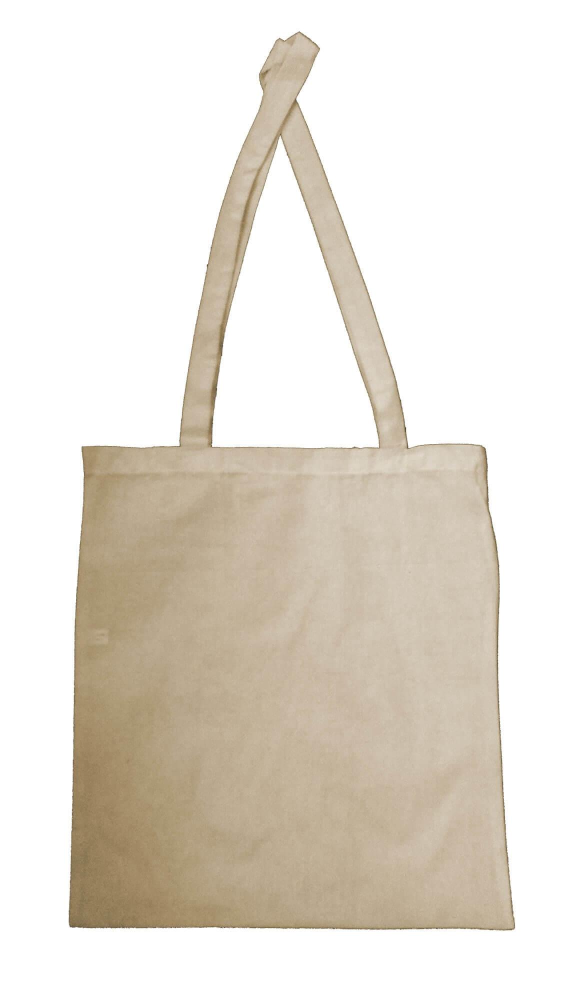 f40f91845 Bavlněná nákupní taška natur, dlouhé ucho