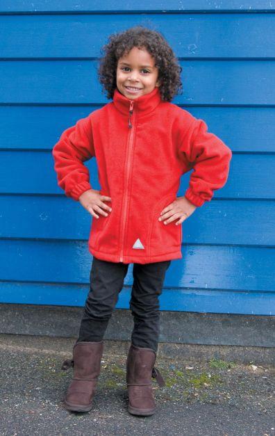 Dětská fleece mikina RESULT MICRON R114j