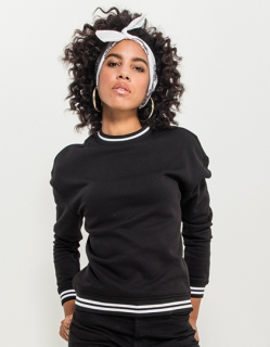 Ladies College Sweat Crew BY105 do velikosti 5XL