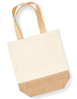 Jute Base Canvas Shopper Westford Mill W450