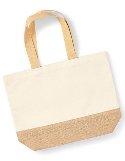Jute Base Canvas Bag W451