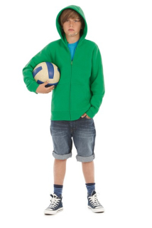 BC Hooded Full Zip kids