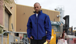 Softshell Ripstop Workwear Jacket Result R124X